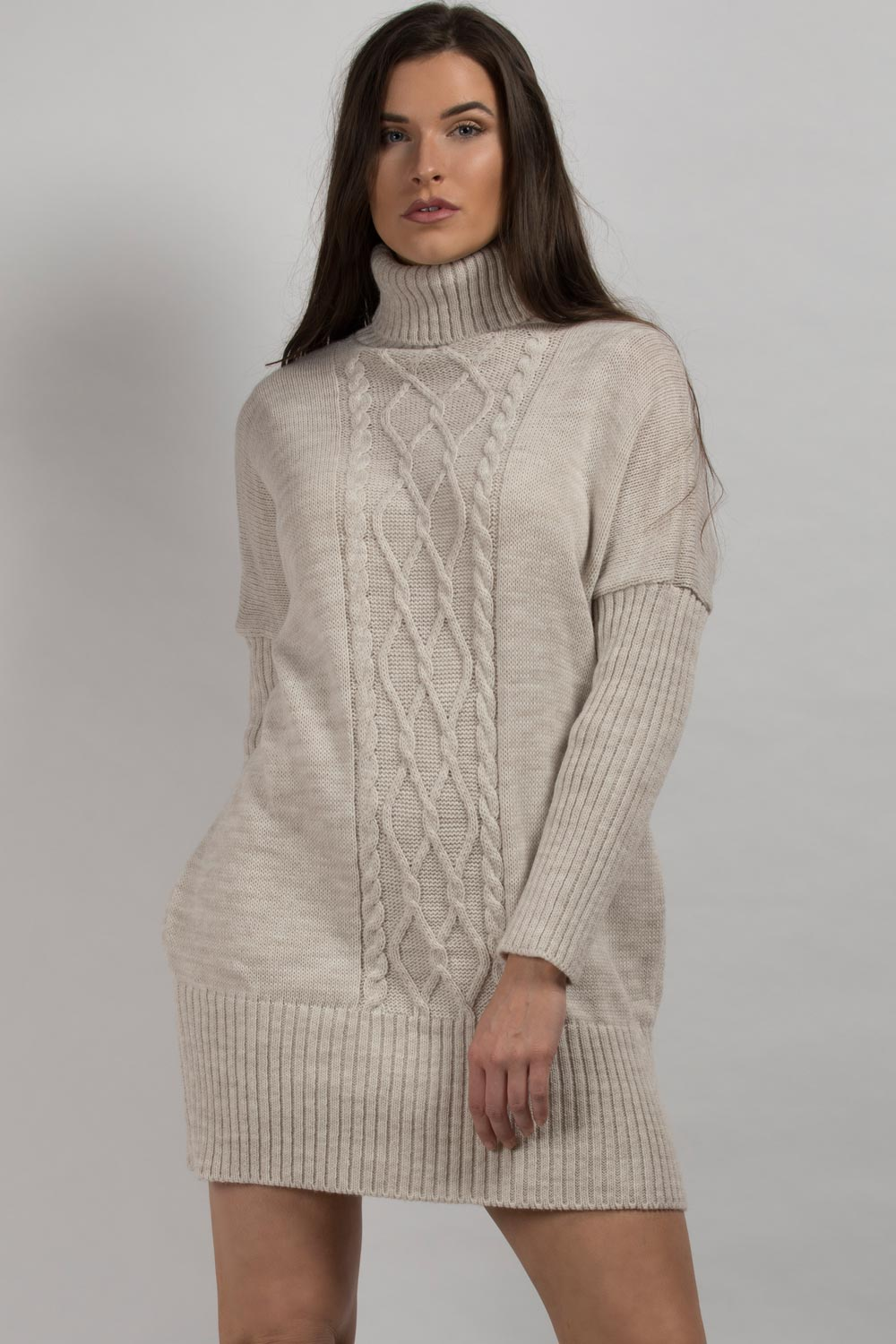 oversized jumper dress styledup fashion