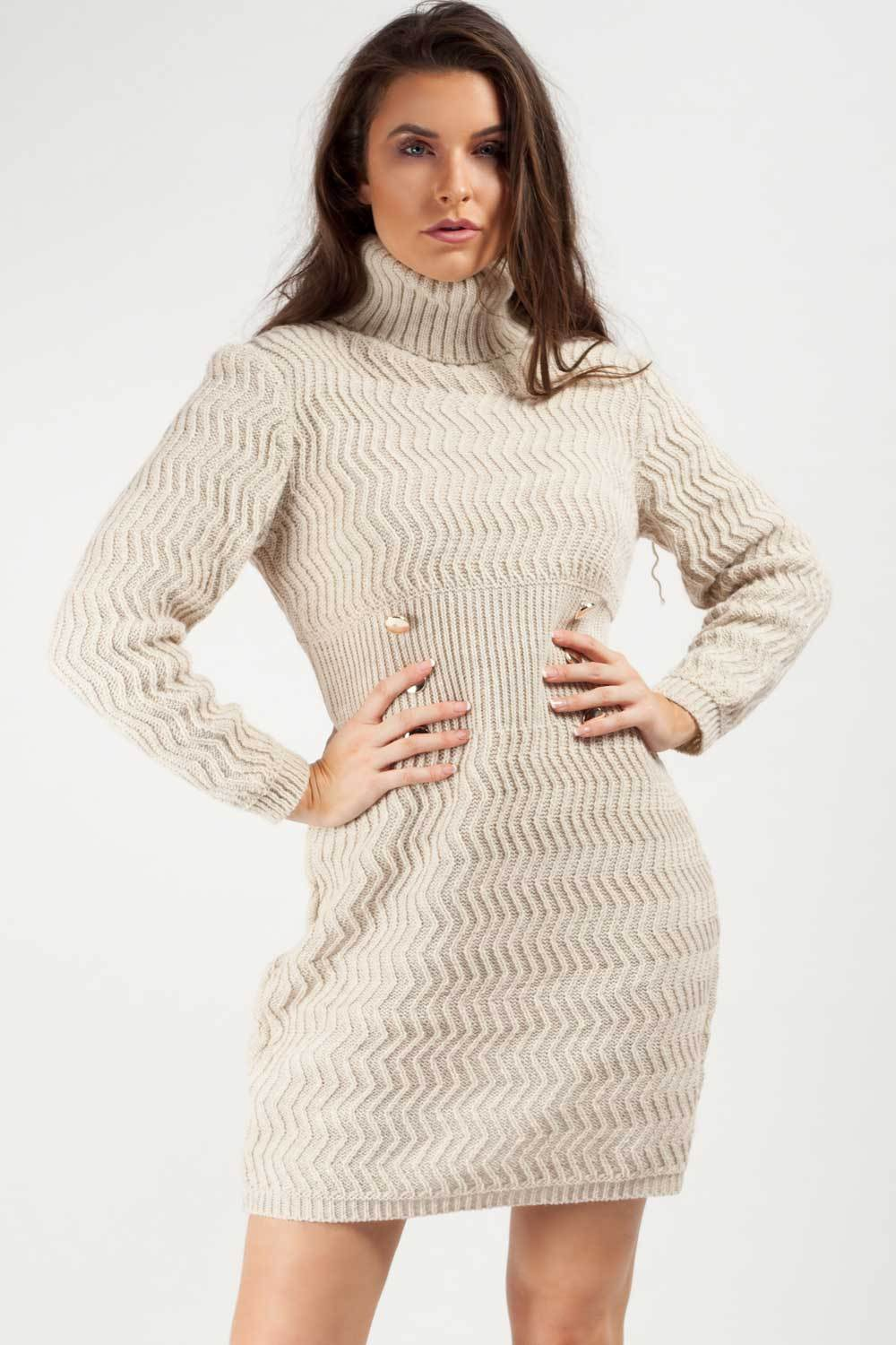 roll neck jumper dress uk