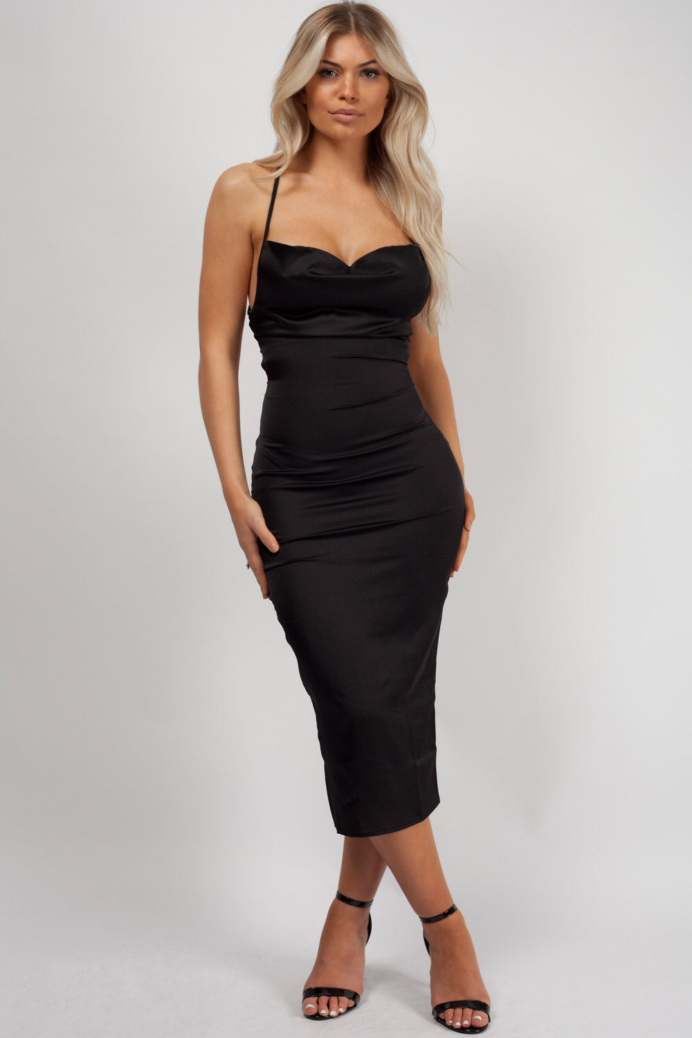 bodycon dress black