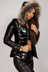 womens black coat on sale uk