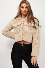 camel teddy bear jacket womens uk
