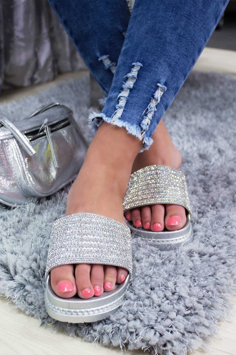 diamante sliders