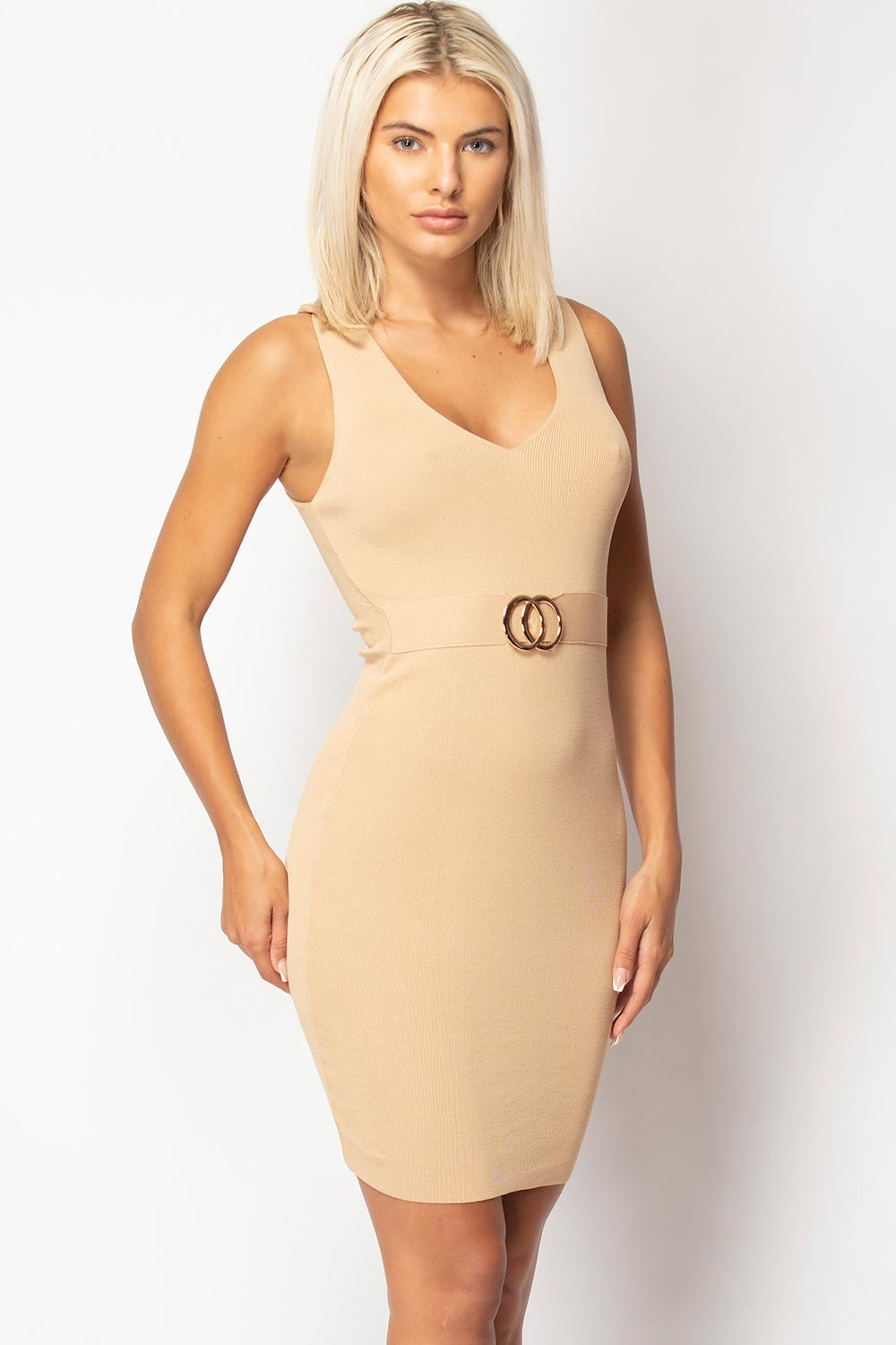 chanel inspired bodycon dress