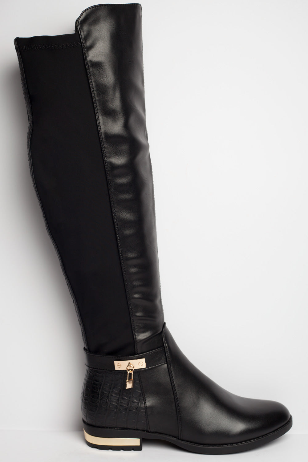 black knee high boots sale