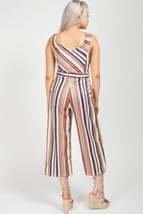 multicolour culotte jumpsuit