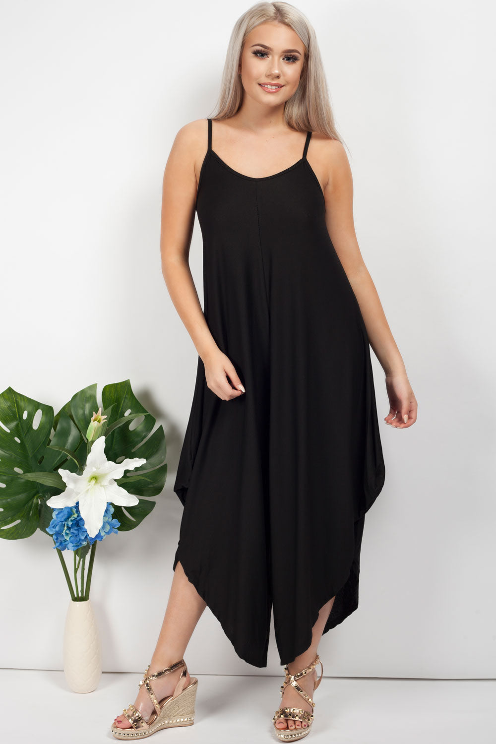 womens black romper