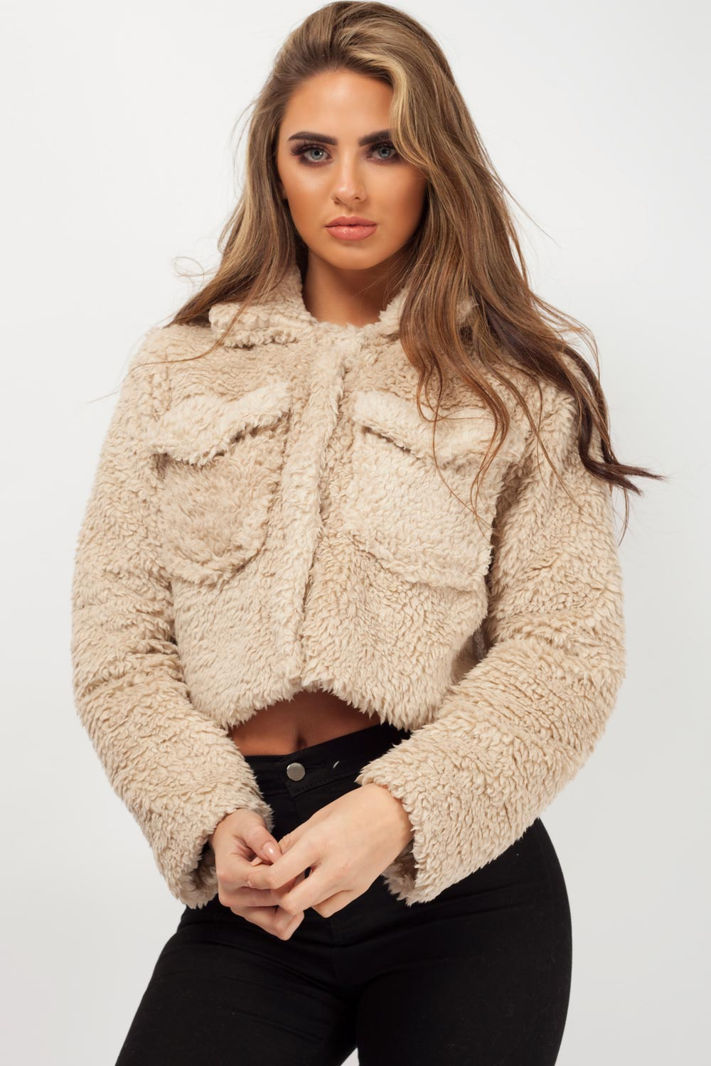 teddy bear coat uk