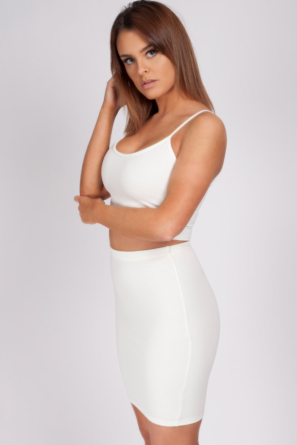co-ord set white