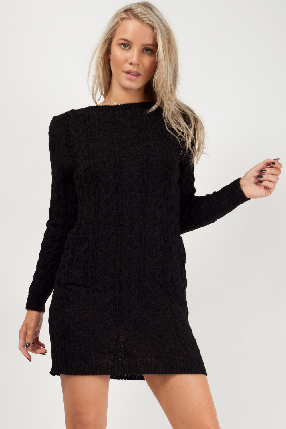 womens jumper black