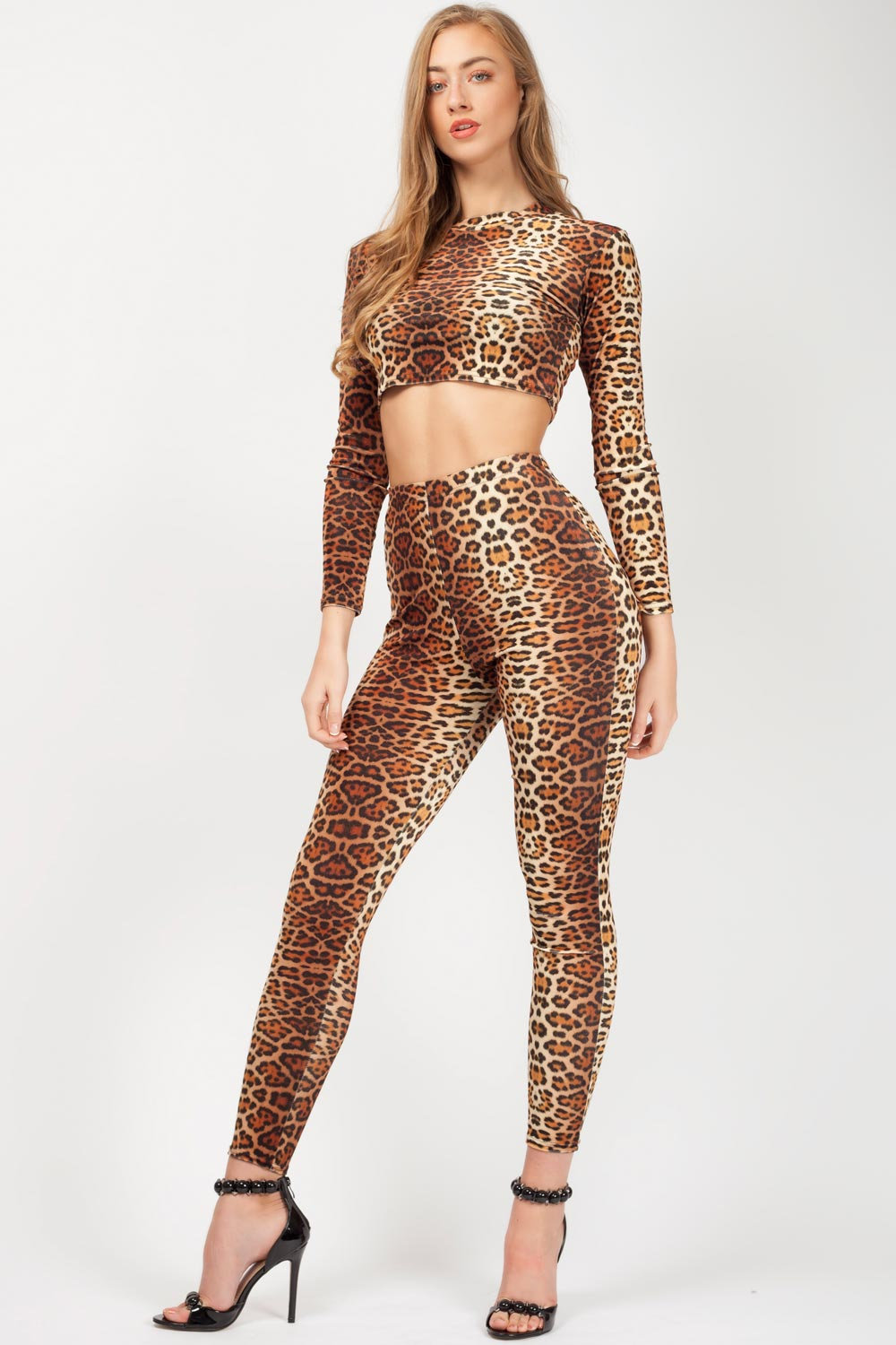 575218701 velour high waist trousers leopard print. velour leggings high waist