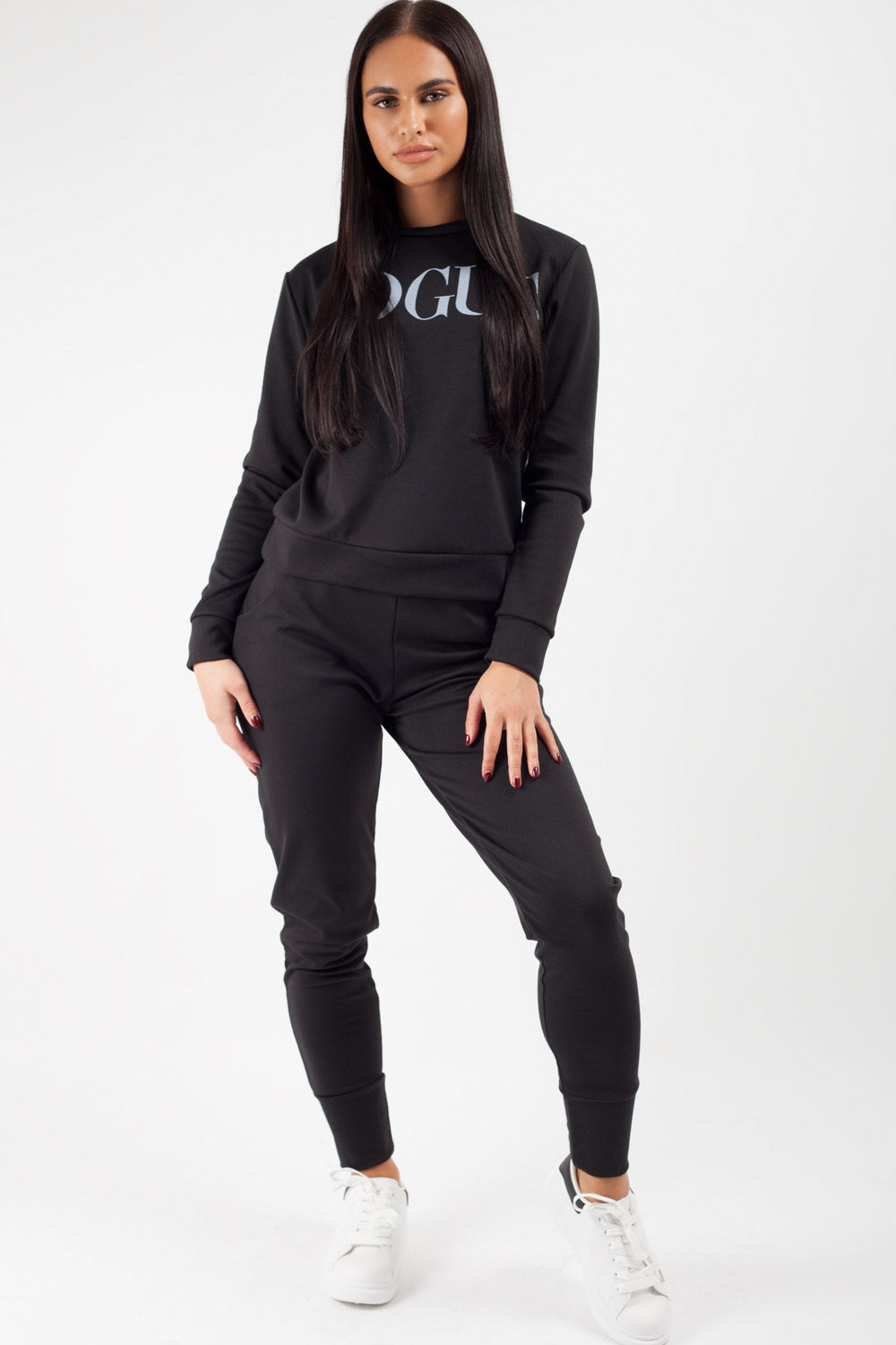 Black Vogue Loungewear Set
