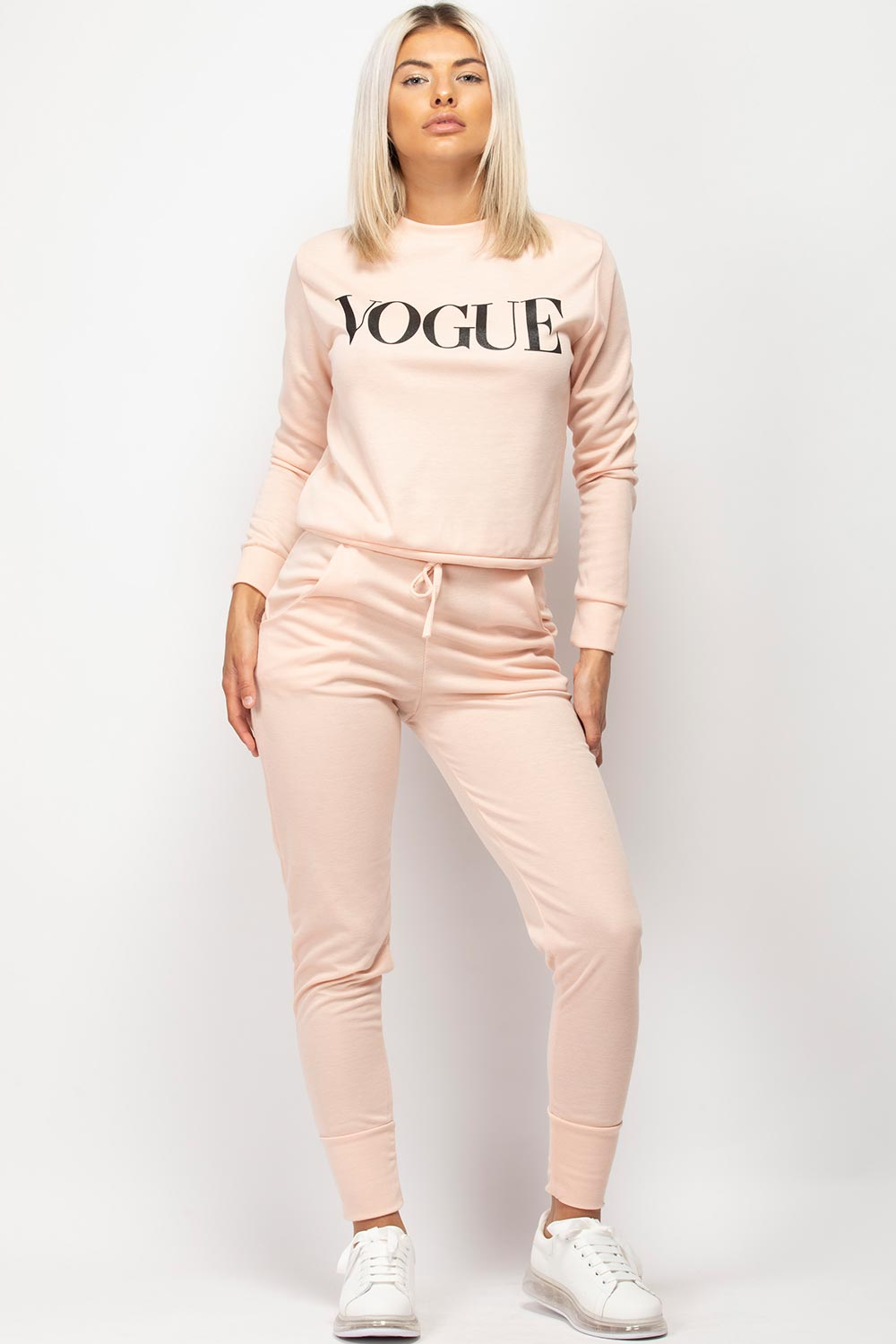 vogue slogan loungewear set