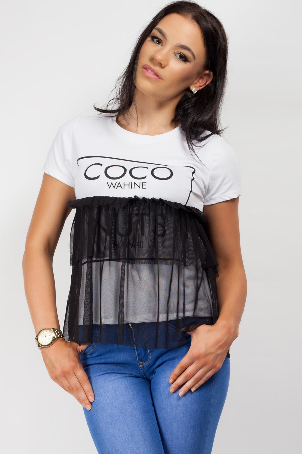 coco slogan t shirt on sale uk