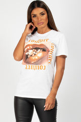 couture graphic t shirt