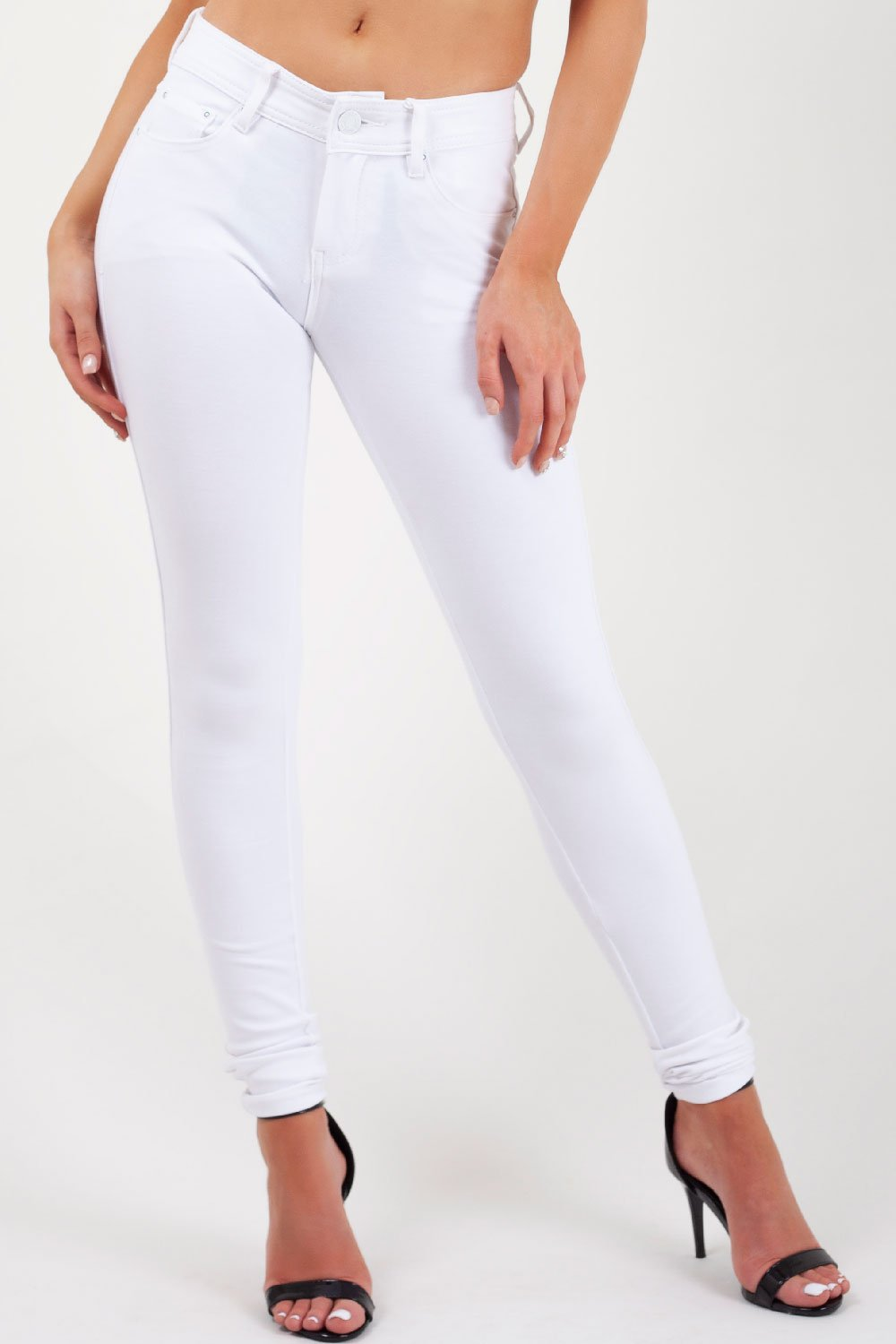 white jeggings uk