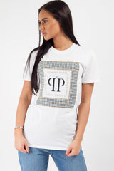 j`adore paris t shirt white