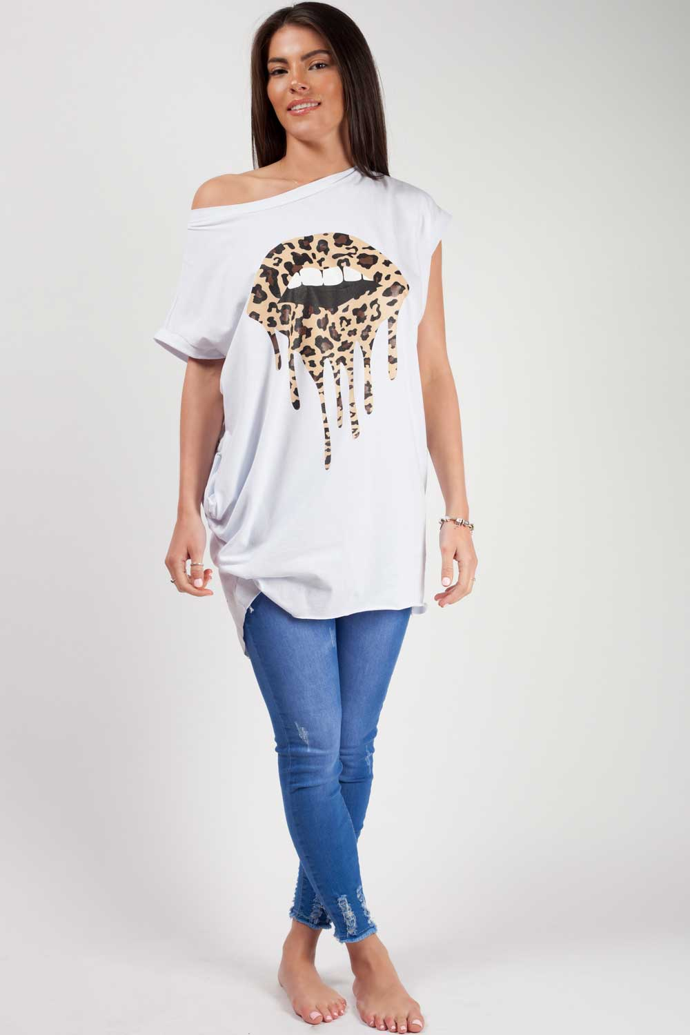white oversized t shirt uk styledup fashion