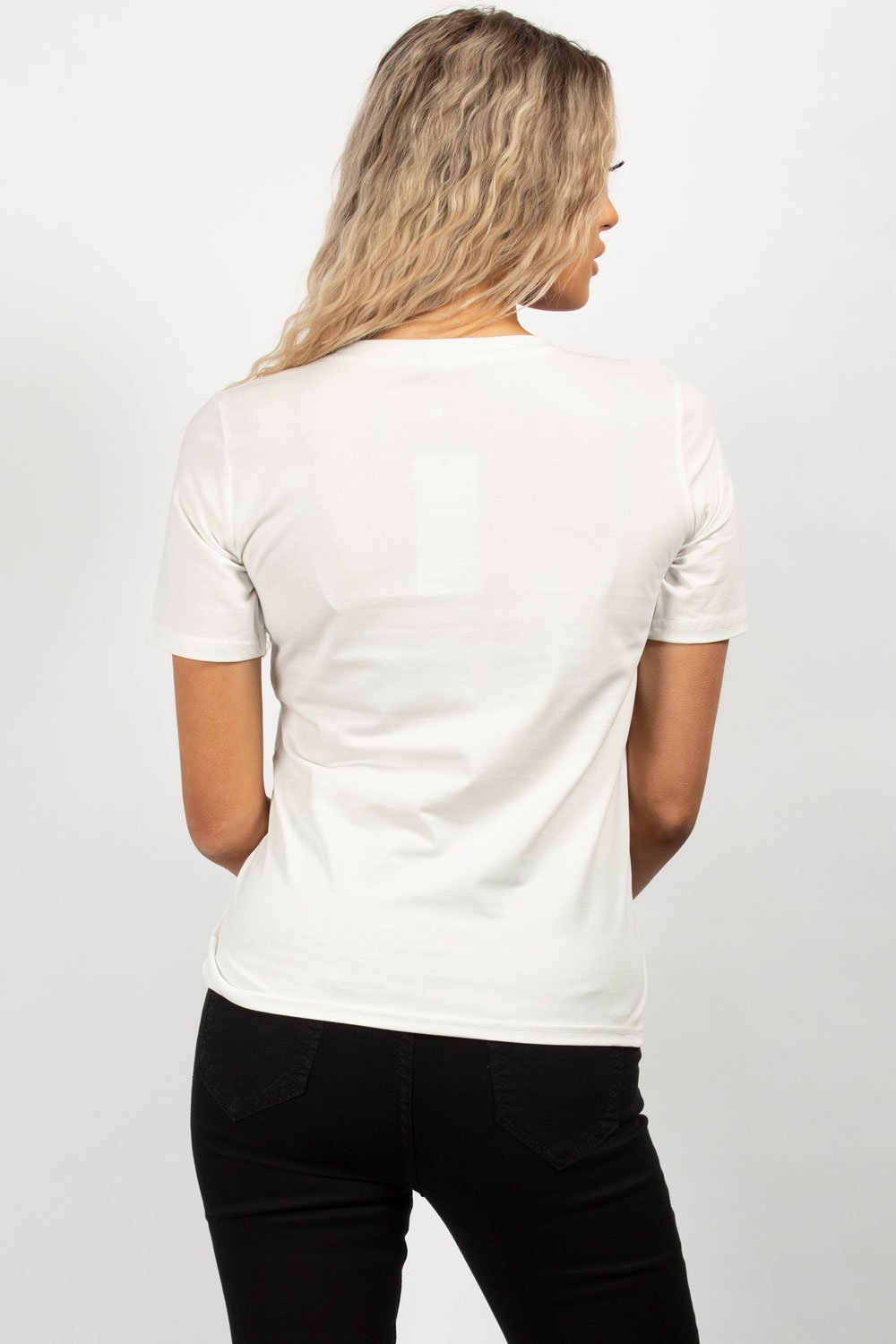 womens white top uk