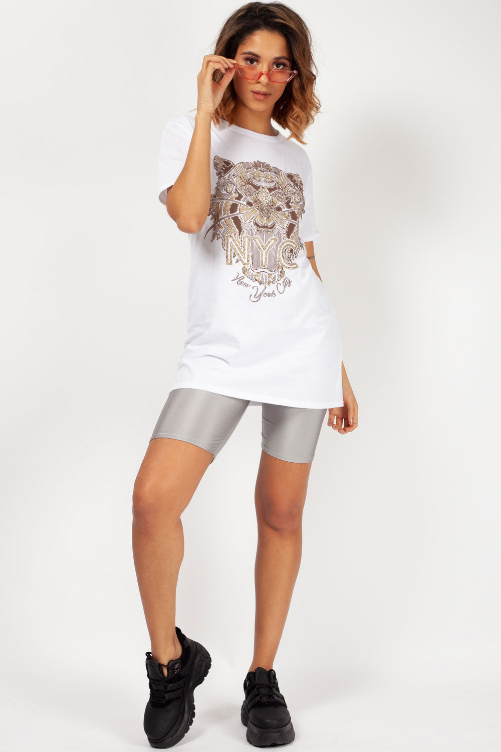 kenzo inspired white top womens