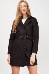 womens black winter coat