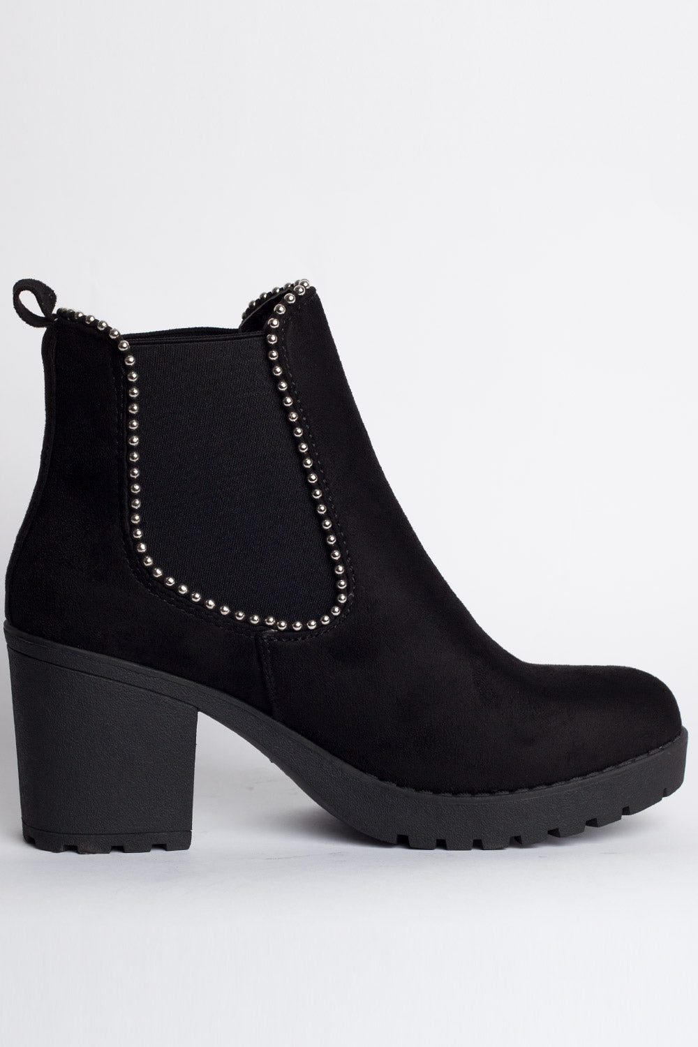 black chelsea boots ladies