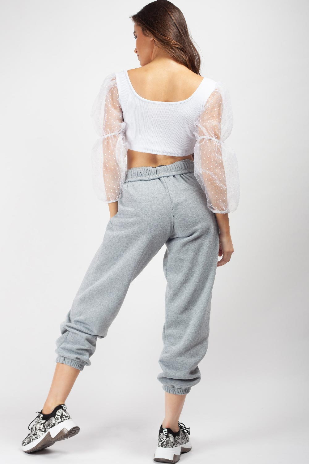 grey sweatpants women