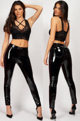 vinyl trousers womens styledup fashion