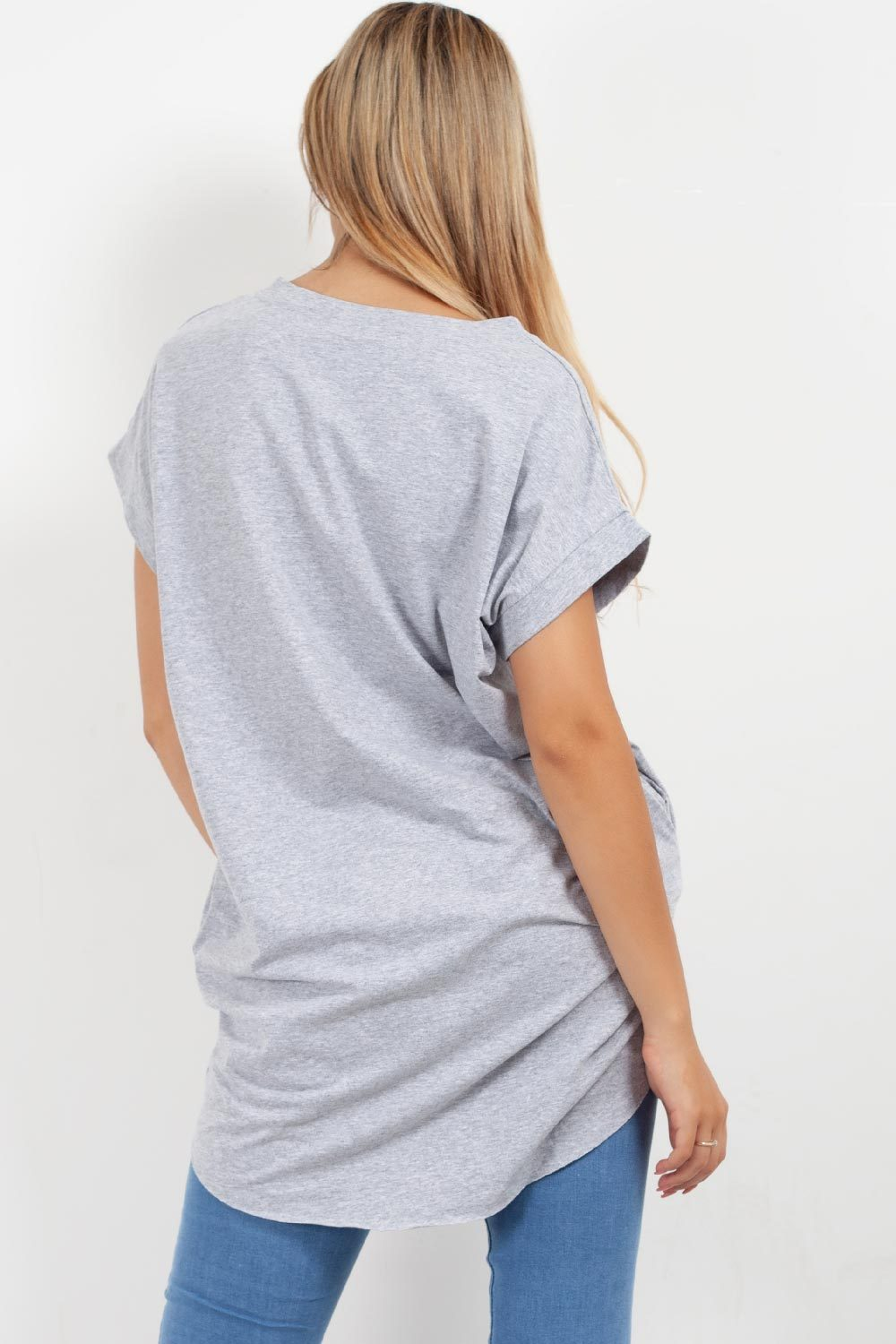 grey oversized tee shirt grey styledup fashion