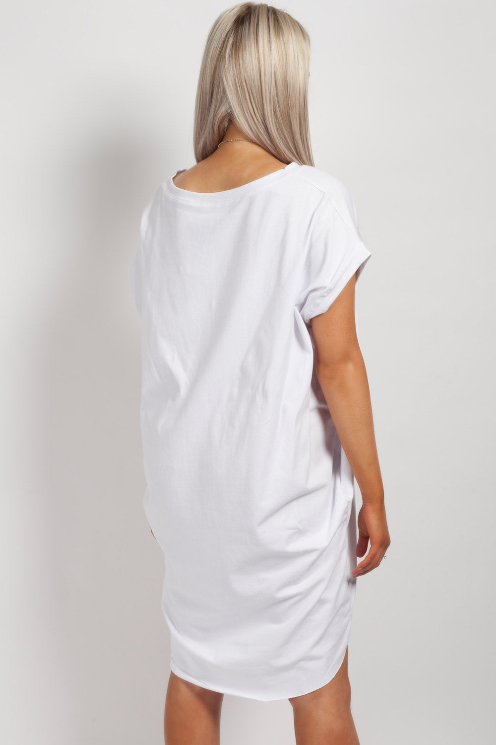 womens made in italy top white