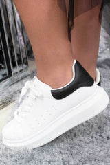 alexander mcqueen inspired trainers white