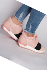 Girls Pink sneakers