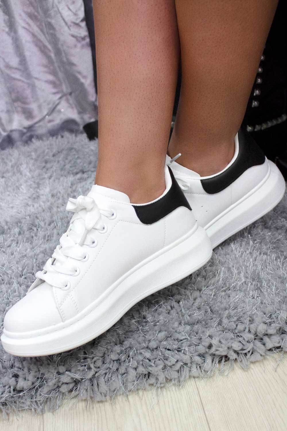 womens white trainers sale styledup fashion