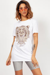 womens white t shirt designer inspired