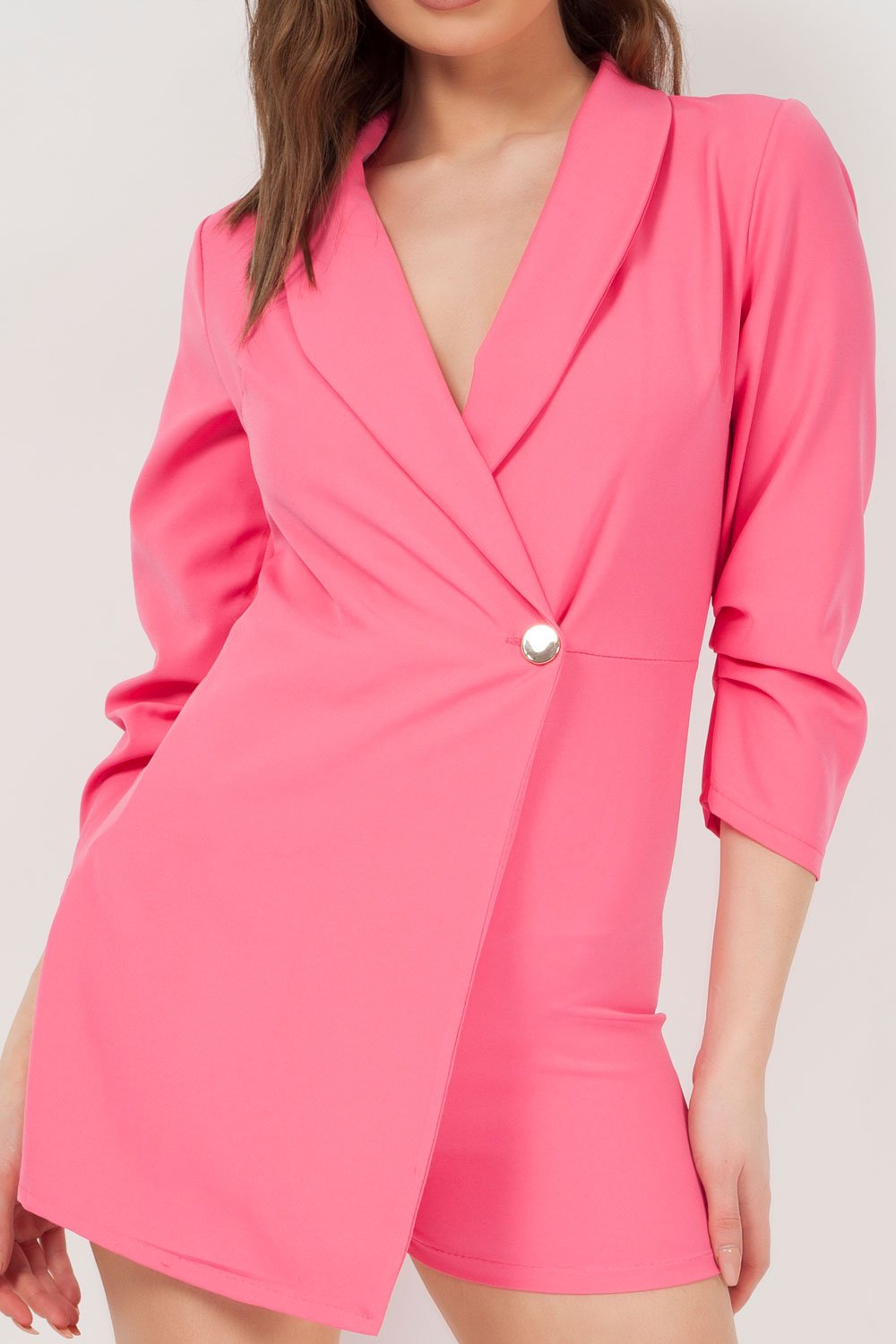 ab2155cab1d going out playsuit pink uk. wrap playsuit pink uk. pink blazer playsuit uk