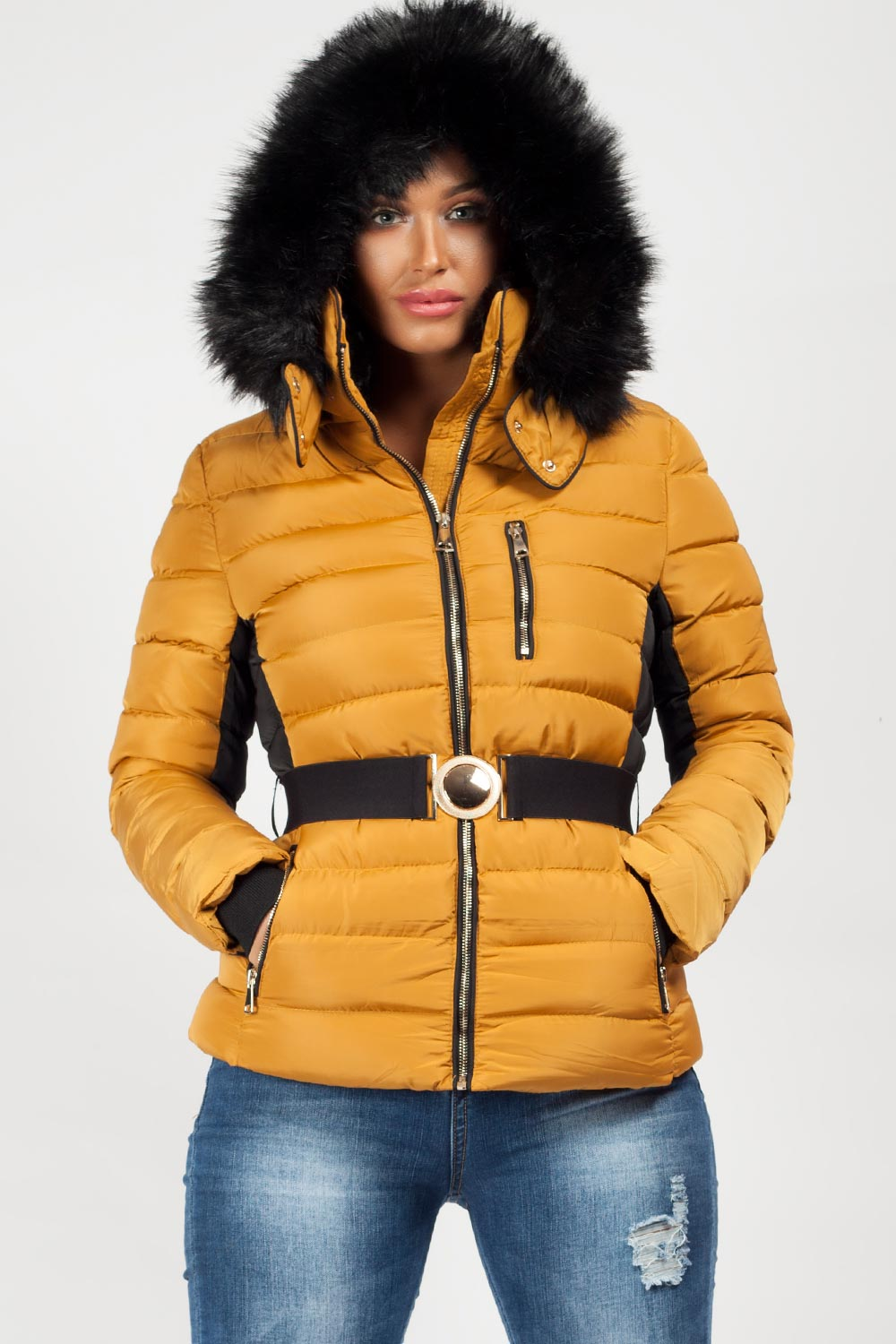 womens outdoors winter coat padded extremely warm