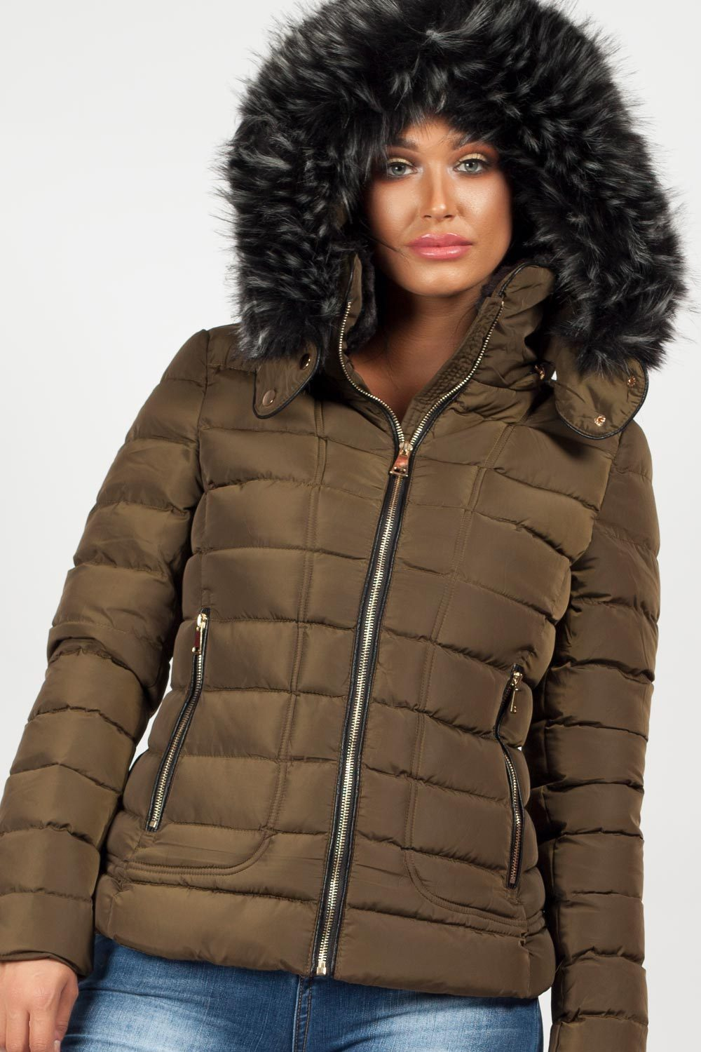 womens winter coats for sale khaki uk