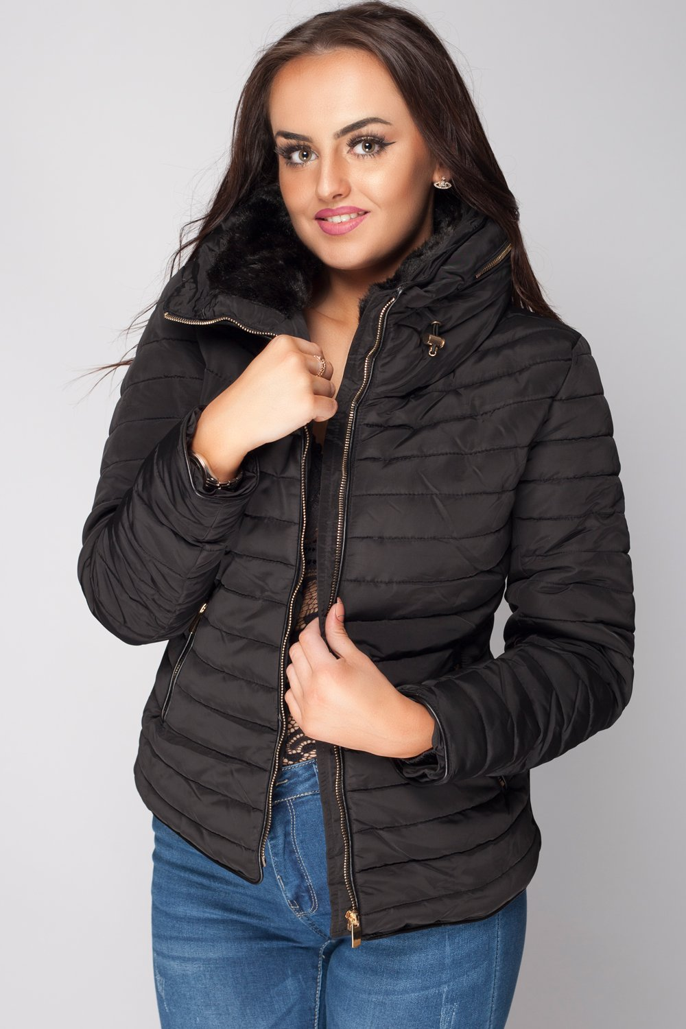 ac4e3dff5c06 Womens Quilted Puffer Jacket New Collection SS2018 – Styledup.co.uk