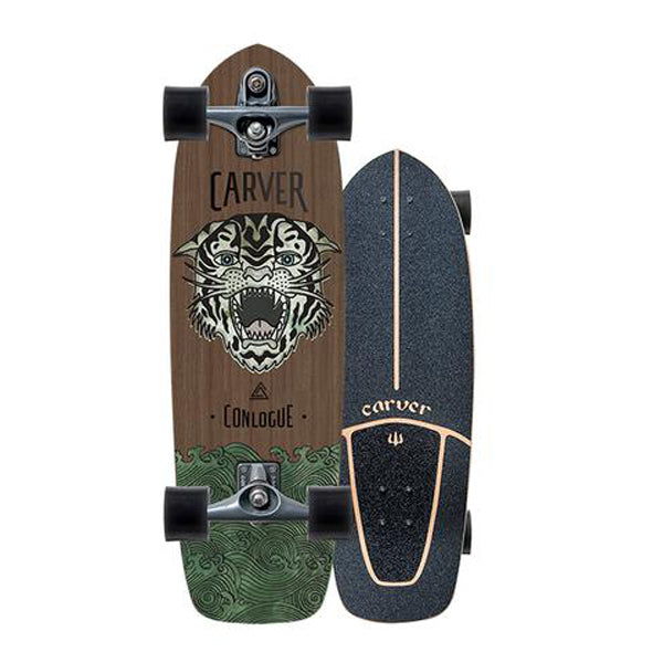 "Carver - Carver Skateboards - 29.50"" Conlogue Sea Tiger C7 Complete - Brands - Satorial"