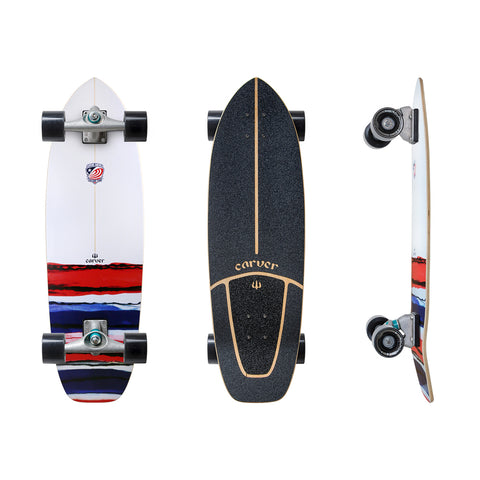 "Carver - Carver Skateboards - 32.5"" USA Resin CX.4 Complete - Brands - Satorial"