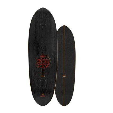 "Carver - Carver Skateboards - 33"" Haedron No6 Deck - Brands - Satorial"