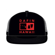 DaFiN - DaFin - HI Fin Hat - Black/Red - Brands - Satorial