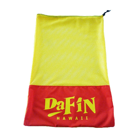 DaFin - Red/Yellow Mesh Fin Bag - Satorial