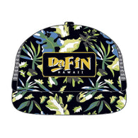 DaFin - Baseball Cap - Black Tropical - Satorial