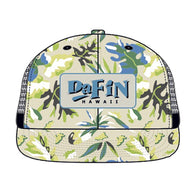 DaFin - Baseball Cap - Cream Tropical - Satorial