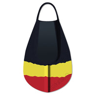 DaFiN - Kicks Bodyboard Fins - Black/Yellow/Red - Brands - Satorial