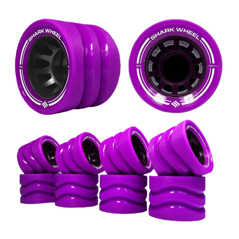 Shark Wheel - 58mm Outdoor Quad Derby - Purple