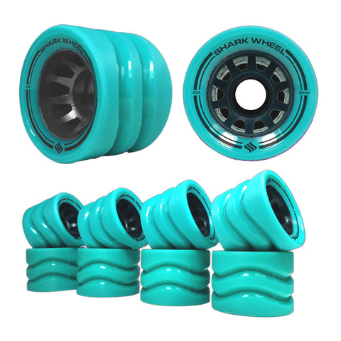 Shark Wheel - 58mm Outdoor Quad Derby - Turquoise