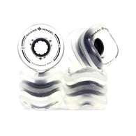 Shark Wheel - 60mm California Roll -  Clear with Black Hub