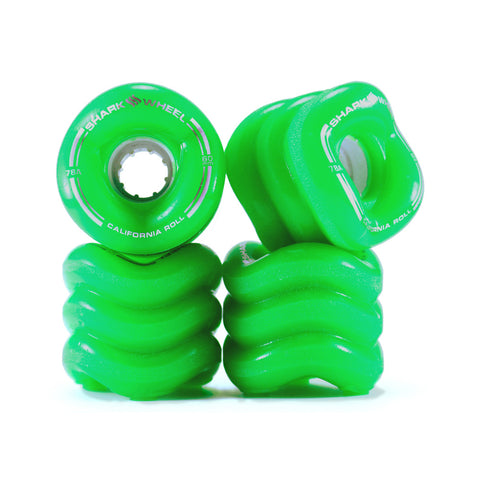 Shark Wheel - 60mm California Roll -  Green