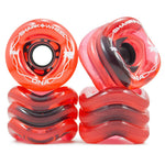 Shark Wheel - 72mm DNA - Transparent Red